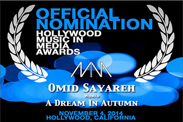 Omid Sayareh Nomination